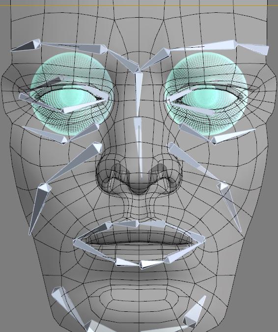 Facial mocap