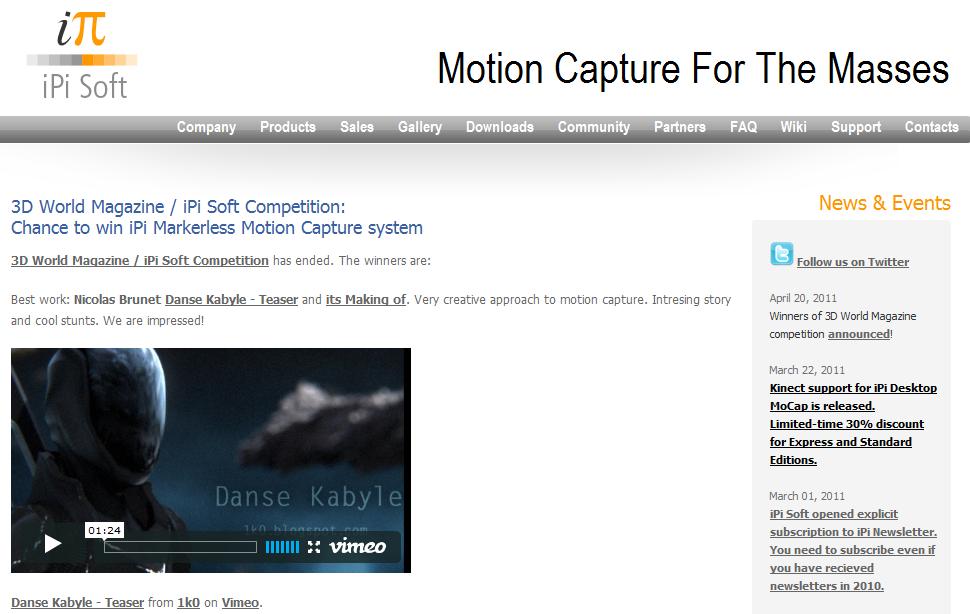 Danse Kabyle – Winner!