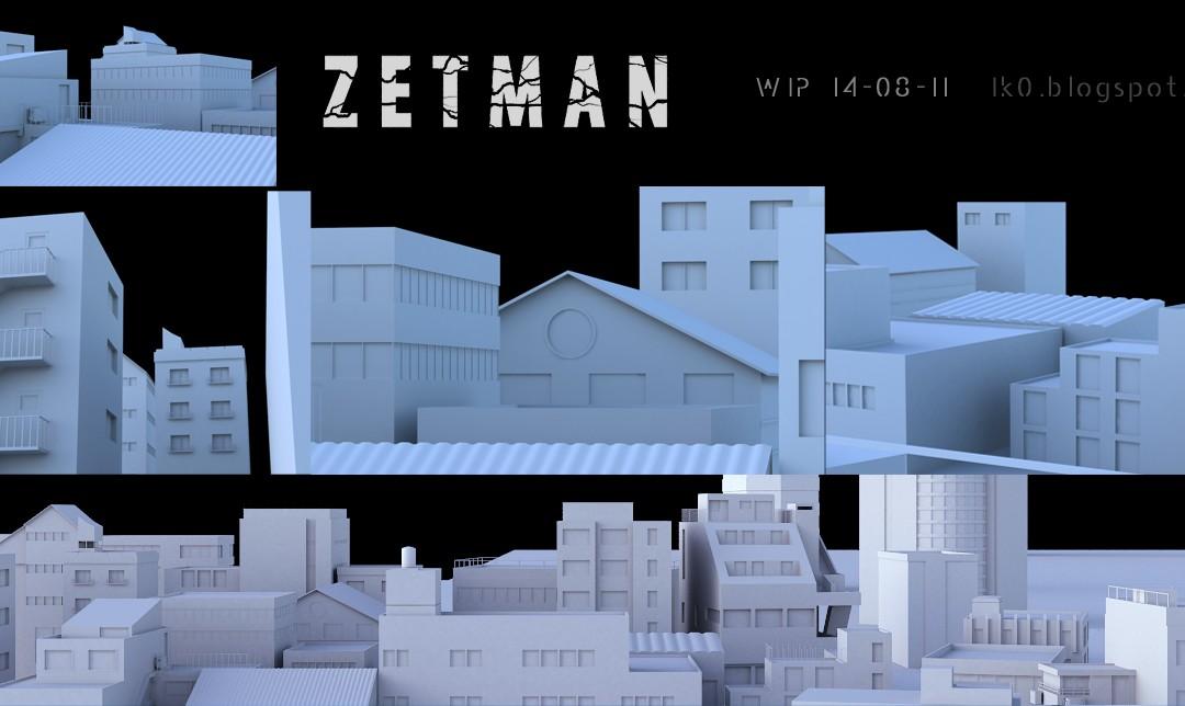 Zetman – WIP