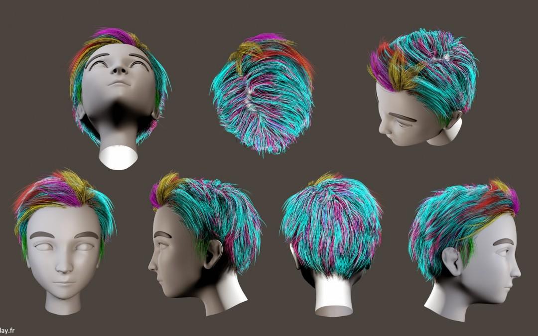 CG Hair – Part I